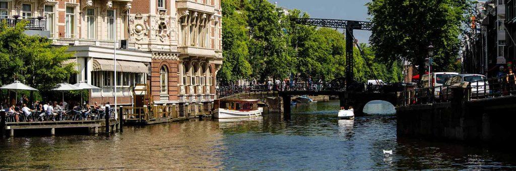 Ankunft in Amsterdam - Zimmer ohne Bett