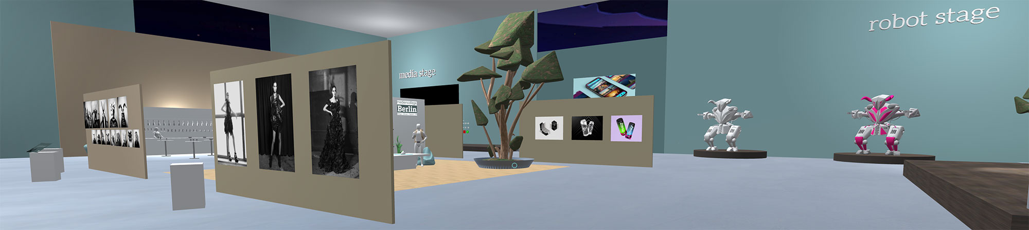 virtual reality lounge